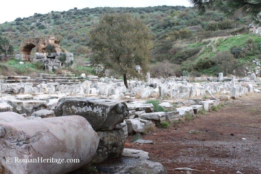 Gimnasio Baños Jordan:Gymnasium and Baths Palestra Gimnasio y Banos – Ephesus Efeso – Turkey
