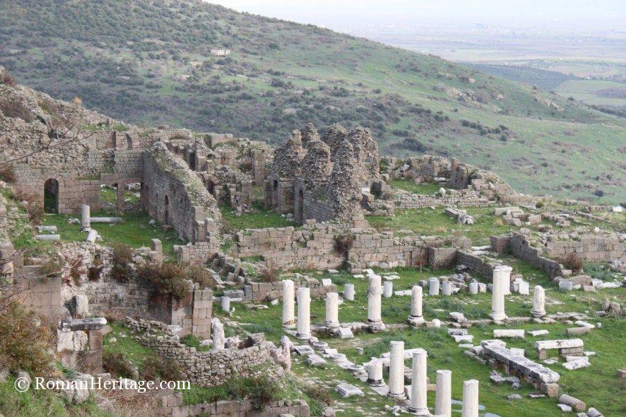Pergamum Pergamo Bergama Baths Lower Agora baja Termas -3 ...